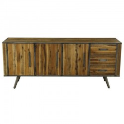 Buffet 3 doors wood and Metal Kusso KosyForm