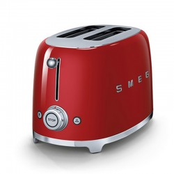 Grille-Pain Smeg TSF01RDEU Toaster Rouge