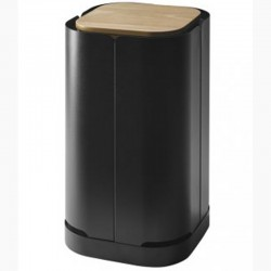 Clover black pellet storage frosted Dixneuf Design