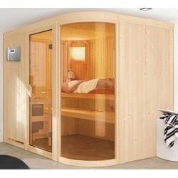 Sauna Vapeur 9 kW traditionnel Finlandais 5 places Sphérium Prestige - VerySpas Selects