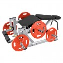 Leg Curl Plate Load Machine PLLC Steelflex