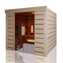 Sauna Traditionnel Hybride Combi Access Holl's Mobilité Réduite