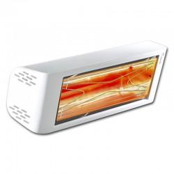 Riscaldamento a raggi infrarossi Heliosa Hi Design 44 bianco Carrara 2000W IPX5