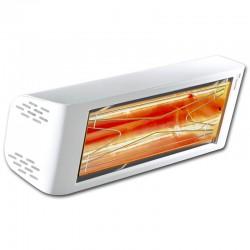 Riscaldamento a raggi infrarossi Heliosa Hi Design 44 bianco Carrara 1500W IPX5