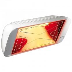 Riscaldamento a raggi infrarossi Heliosa Hi Design 66 bianco Carrara 1500W IPX5