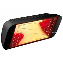 Riscaldamento a raggi infrarossi Heliosa Hi Design in ferro battuto 1500W IPX5 66