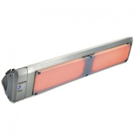 Chauffage Electrique Infrarouge HELIOSA Modèle 99-3 Silver - 4000 W IPX5 Bluetooth