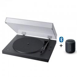 Platine Sony Vinyle Bluetooth avec Enceinte Extra Bass
