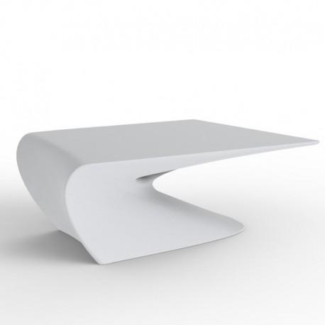 Table Basse Design Wing Vondom Blanc Mat
