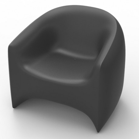 Blow Vondom armchair anthracite Matt