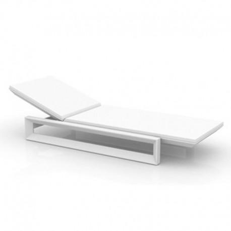 Deckchair frame Vondom white mat