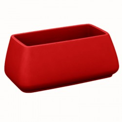 Garden pot MoMA Vondom red height 70