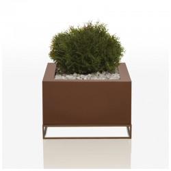 Pot Jardinière Vela land H40 Vondom bronze
