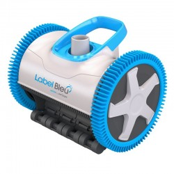 Victor Label Blue Electric Pool Robot