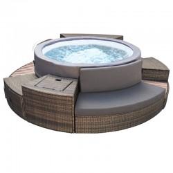 NetSpa VITA PREMIUM 6-seater portable spa with furniture