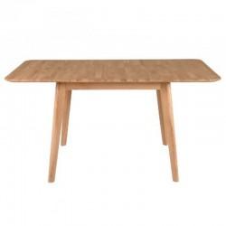 Table de Repas avec Allonge en Chêne 100cm Pery KosyForm