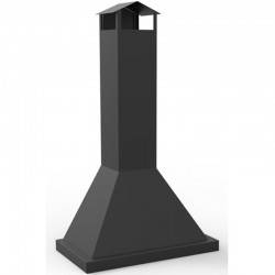 CB-80 Metal Outdoor Hotte Chimney for Barbecue