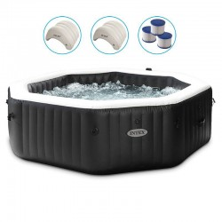 Spa Intex Carbon Bubbles and Jets 6 Places Pure Spa
