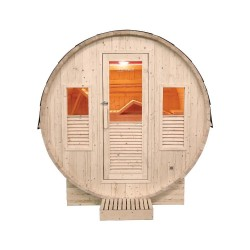 Gaïa Bella 3-seater traditional outdoor sauna