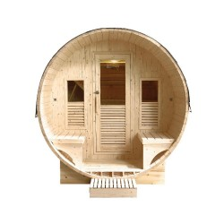Sauna extérieur Gaïa Luna 6 places Holl's