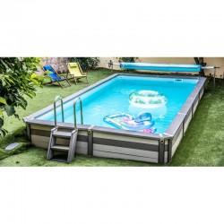 Pool Zodiac Azteck rechteckig Außenboden 530 x 365