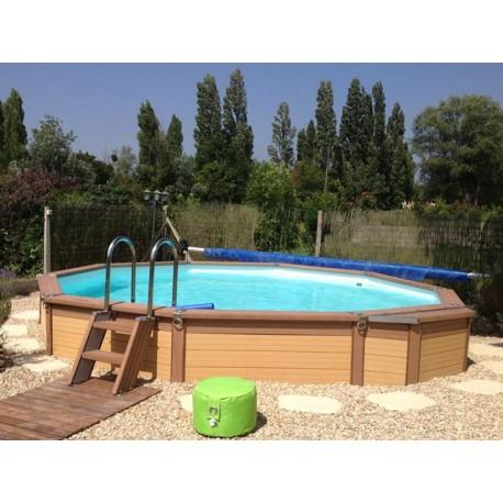 Urban pool Procopi XL wooden 650 x 350
