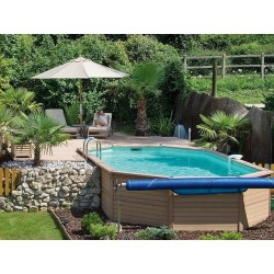 Zodiac Azteck Oval Pool Semi-buried 400 x 890