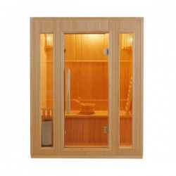 Sauna steam Zen 3 seats - Selection VerySpas