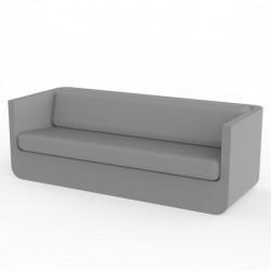 Vondom Ulm sofa with steel cushions