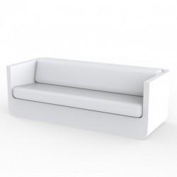 Vondom Ulm sofa with white cushions