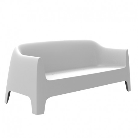 Canapé de jardin Vondom Solid sofa blanc