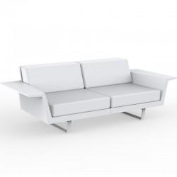 Vondom Delta sofa white 2 seats
