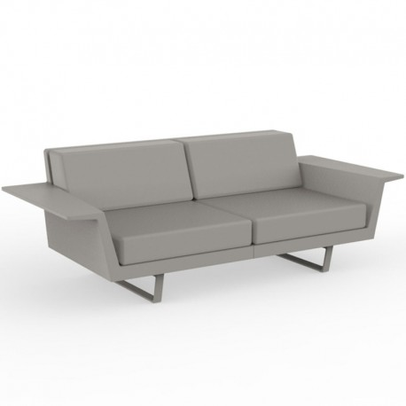 Canapé Vondom Delta sofa taupe 2 places