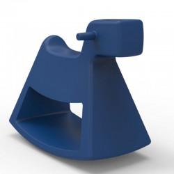 Chaise à bascule Rosinante Vondom Petit modèle bleu