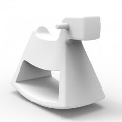 Chaise à bascule Rosinante Vondom Petit modèle blanc