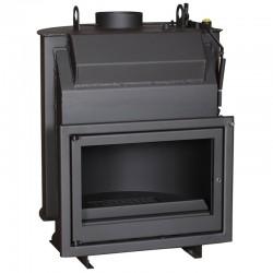 Insert Fireplace boiler Wood boiler Escalor 14kW
