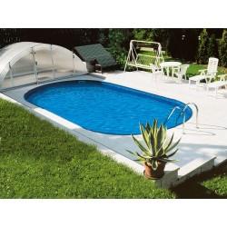 Piscine Ovale Ibiza Family 600 Luxe Enterrée profondeur 150