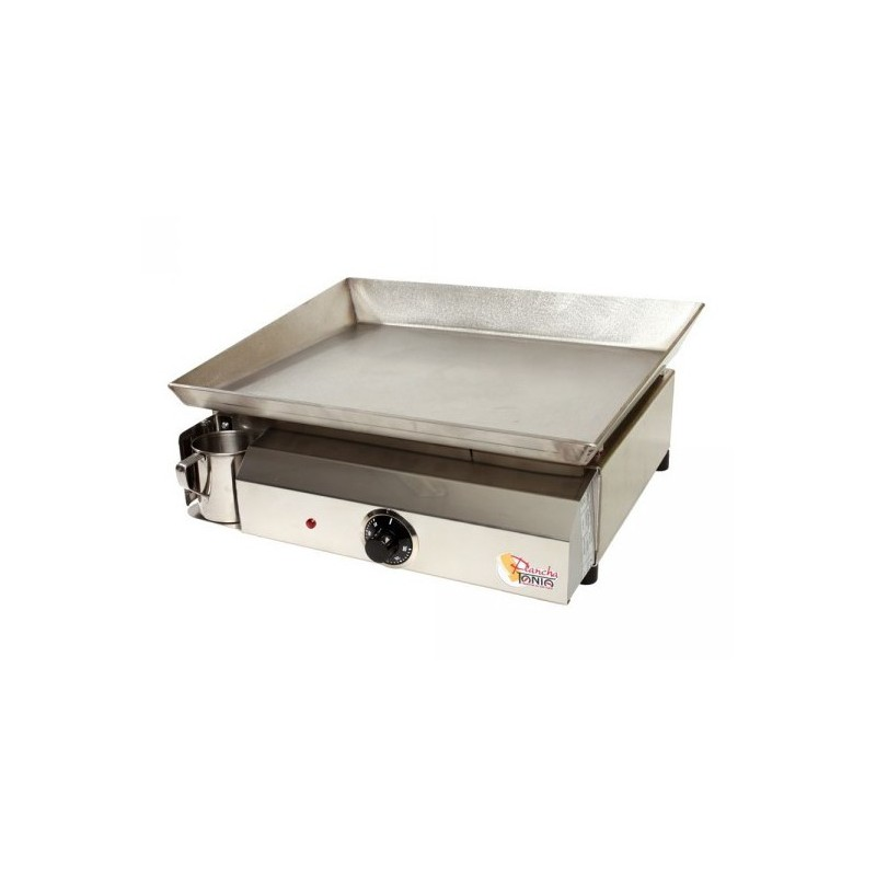 Plancha inox electica 220 230v tonio savorcook selects for Plancha tonio inox