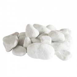 White pebbles Design (Set of 10)