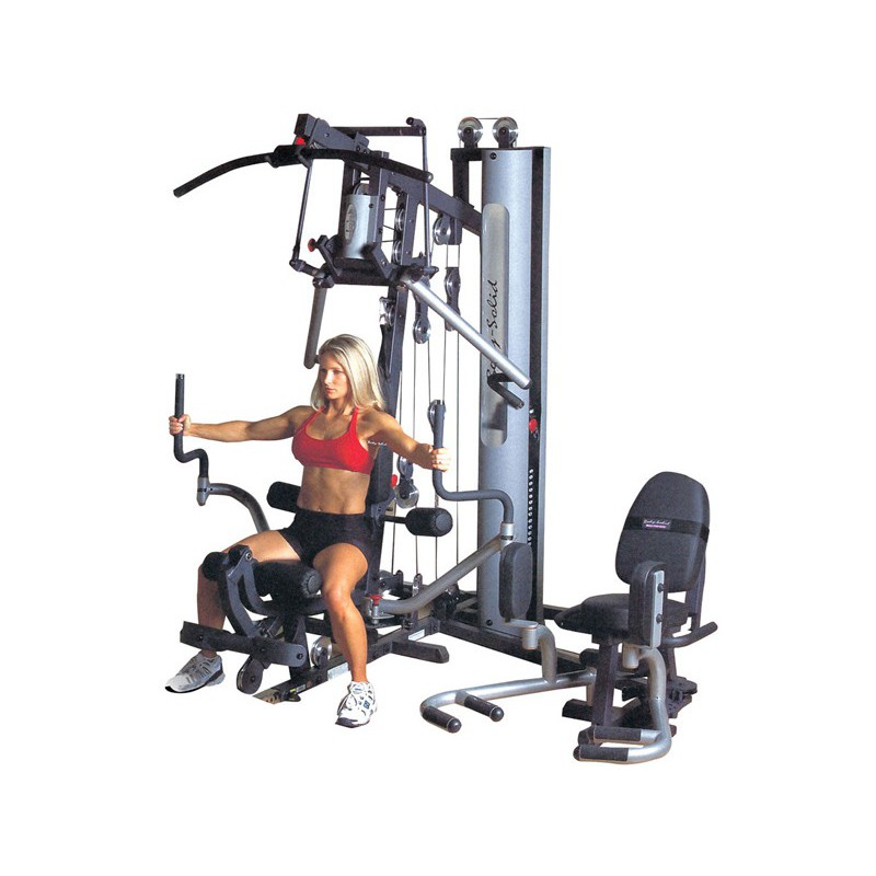 fitnessger te home gym multi funktions body solid g6b. Black Bedroom Furniture Sets. Home Design Ideas