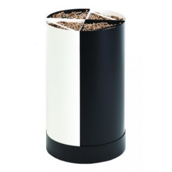 Stockeur à Granules Bois Fractio Noir-Blanc Dixneuf design