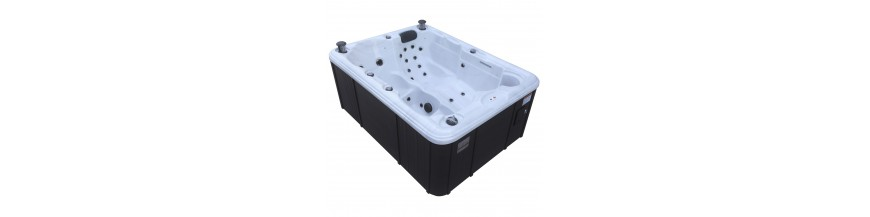 Built-in and portable spas