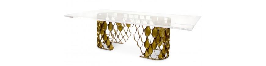 Der Tisch Ist Die Am Häufigsten Verwendeten Möbel, Und Sie Erfindet Sich  Ständig Neu. Entdecken Sie Unsere Auswahl Von Tabellen Von Designern Für  Jeden Stil ...